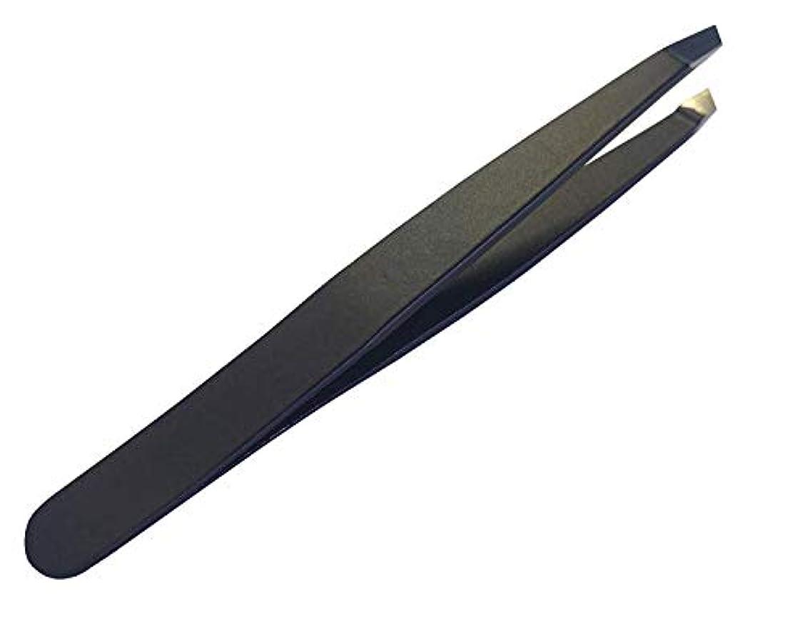 情熱クラウン豪華なブラックヘッド リムーバー 毛抜き 高級ピンセット ステンレス製
