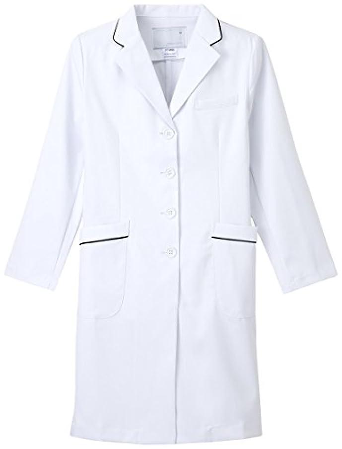 騒々しい責任好みナガイレーベン NAGAILEBEN  女子シングル診察衣 FT4550 Mサイズ Tネイビー