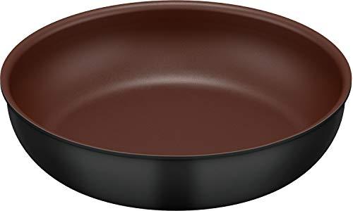 キッチンプラス 取っ手のとれるフライパン 26cm KFA-026 BK [ブラック]