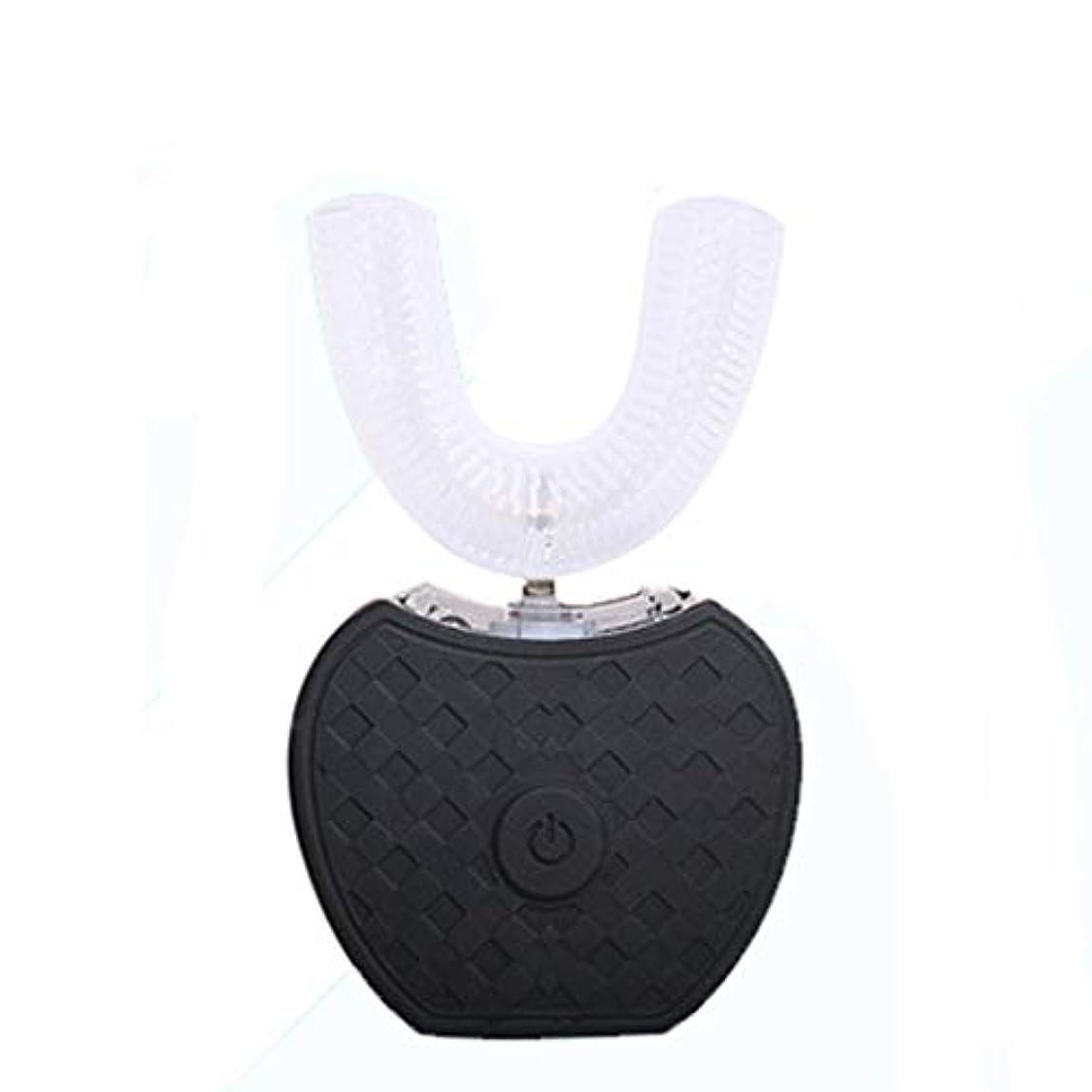 国石鹸一致カップルアダルトモデル充電式自動ソニック電動歯ブラシ、ゼロ過酸化物、有機植物ゲル、敏感な笑顔 (色 : 1)