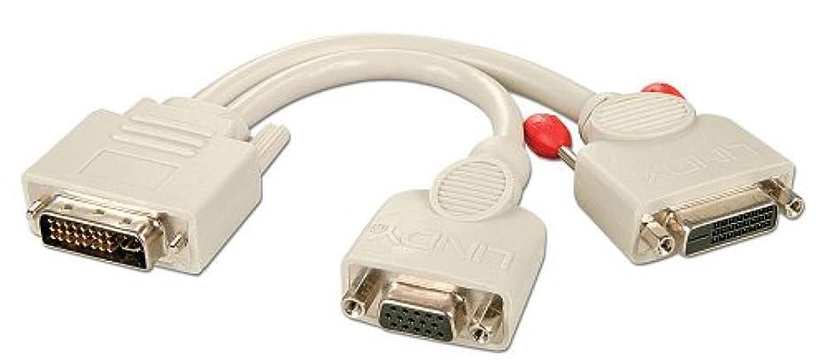 巨人買い手吐き出すLINDY DVI-Iオス - DVI-Dメス+ VGAメススプリッタケーブル