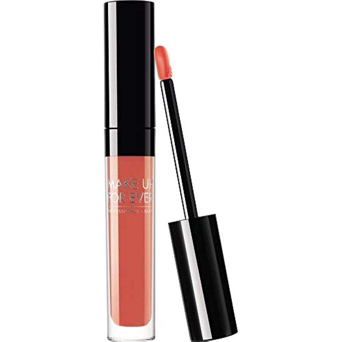 浮く退却満足できる[MAKE UP FOR EVER] 赤珊瑚 - 302 2.5ミリリットルこれまでアーティストの液体マットリップカラーを補います - MAKE UP FOR EVER Artist Liquid Matte Lip Colour...