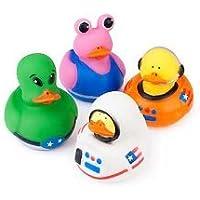 Fun Express 12 Astronaut Space Alien Rubber Ducks [並行輸入品]