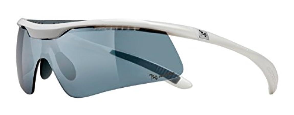 ラッドヤードキップリングスペルランプ720armour(セブントゥエンティアーマー) サングラス Spike B336B3-2-PCPL-P Glossy White/Polarized Smoke