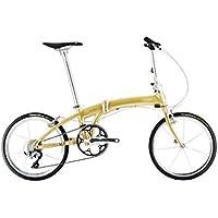 DAHON(ダホン) Mu SLX プレミアムゴールド 2019年モデル ミューSLX 20インチ 折りたたみ自転車