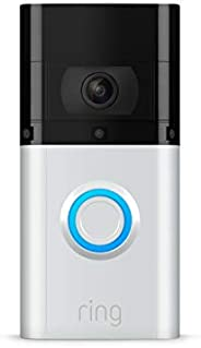 Ring Video Doorbell 3 Plus – enhanced wifi, improved motion detection, 4-second video previews, easy installat