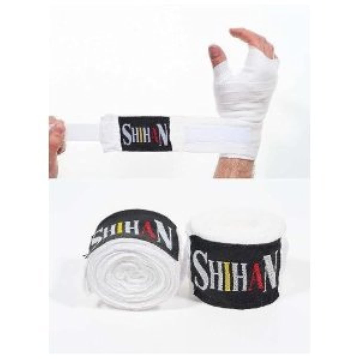 Boxing Hand Wraps – ' shihan- Max ' Natural – ペア