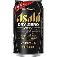アサヒ ドライゼロ ブラック 350ml 缶 350ML × 24本