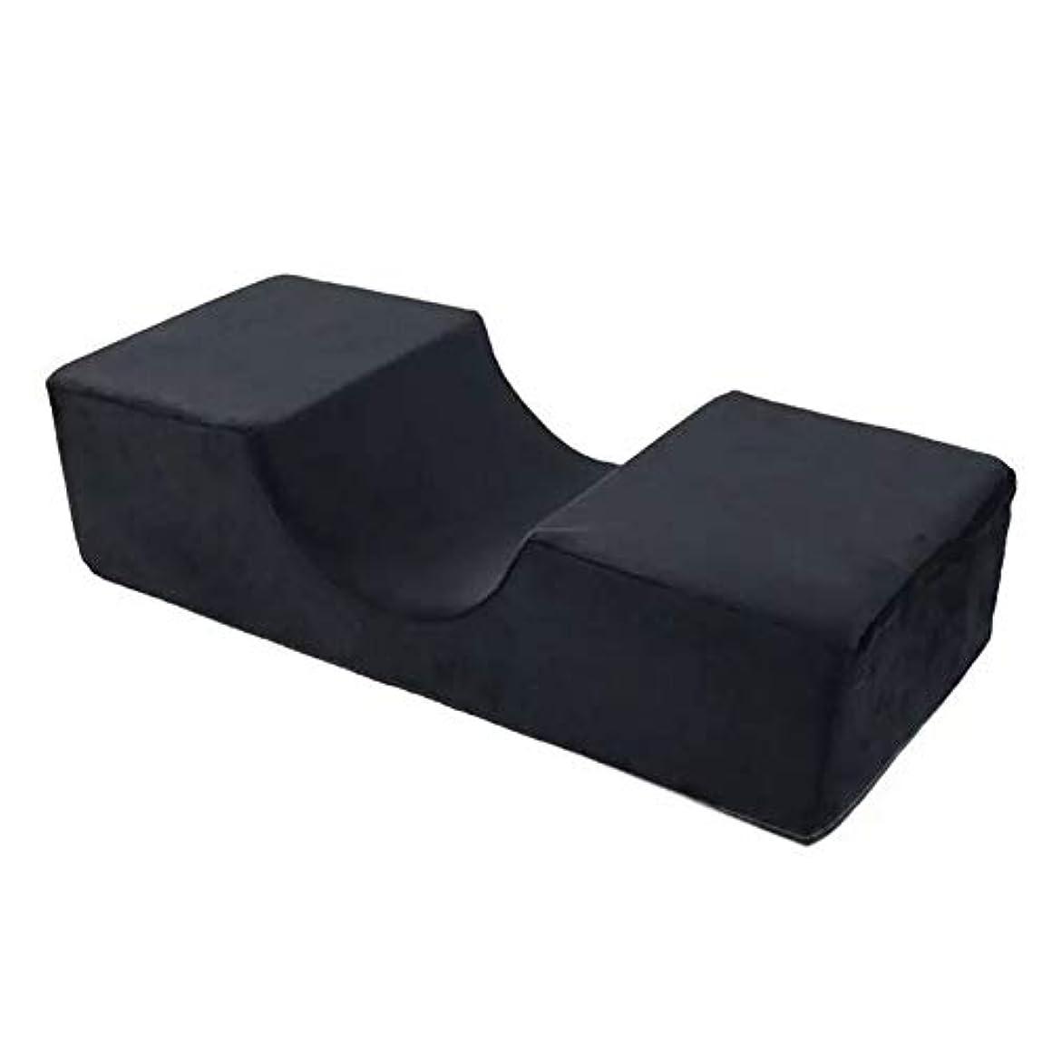 タービン包帯頼むまつげ枕シンプルツールサロン使用ネックフランネルエイドエクステンションカーブスタンドサポート特別なグラフトプロフェッショナルメモリフォーム人間工学に基づいた