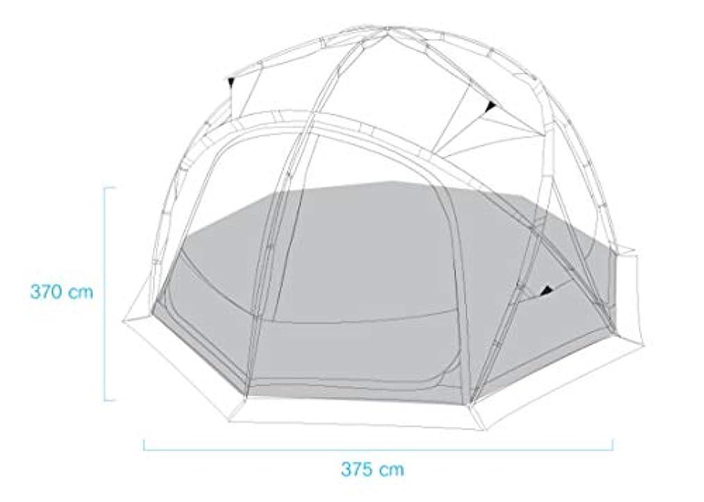 常習的あざ変形Helinox Nona Dome 4.0 Footprint Black For Sleeve Type