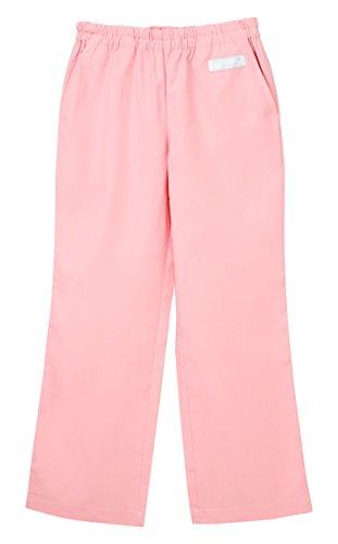 ナガイレーベン 男女兼用パンツ (スクラブパンツ) 医療白衣 ピンク L SL-5093