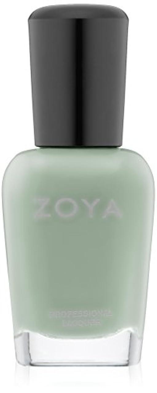成長銀河委員長ZOYA ゾーヤ ネイルカラー ZP774 TIANA ティアナ 15ml 2015Spring  Delight Collection なめらかなグリーン マット 爪にやさしいネイルラッカーマニキュア