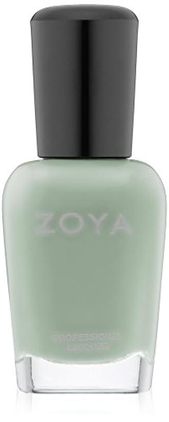 ZOYA ゾーヤ ネイルカラー ZP774 TIANA ティアナ 15ml 2015Spring  Delight Collection なめらかなグリーン マット 爪にやさしいネイルラッカーマニキュア