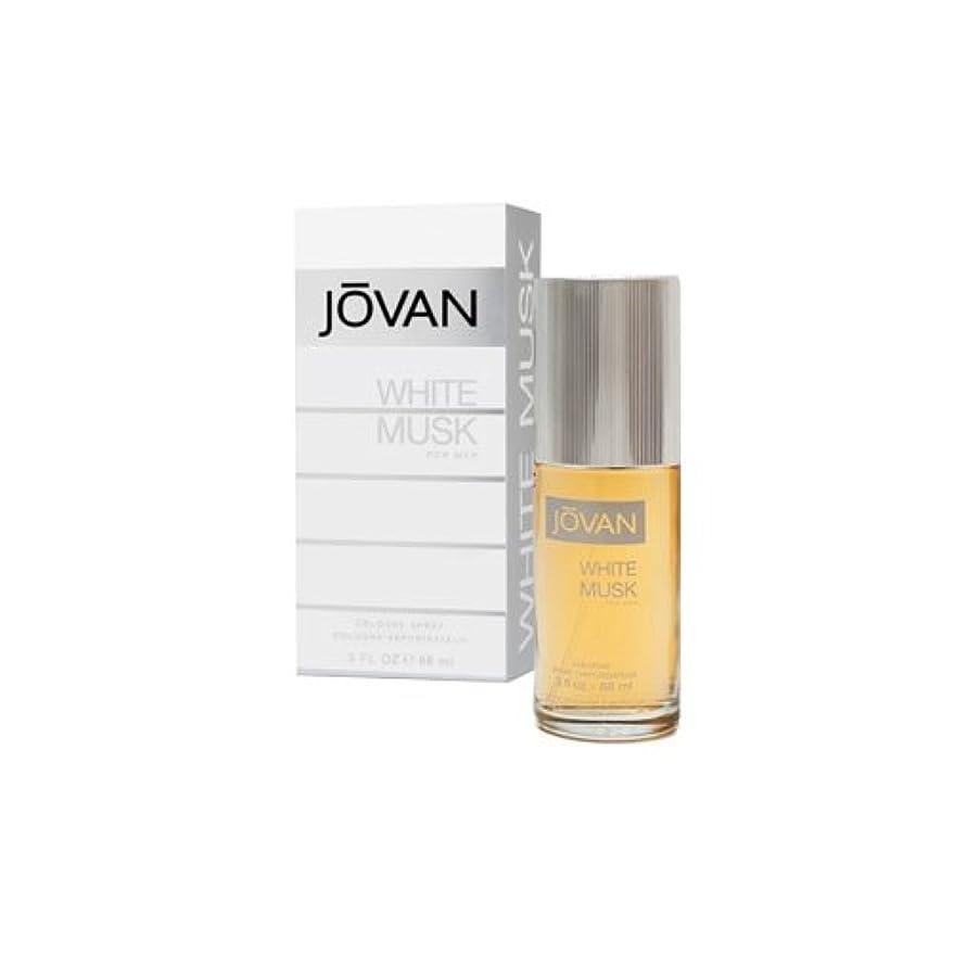 ちらつき数値入るJOVAN ジョーバン ホワイト ムスク フォーメン 88ml メンズ 香水 (並行輸入品)