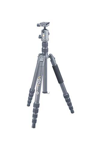 VANGUARD トラベル三脚 VEO2GOシリーズ カーボンファイバー 自由雲台 キャリングケース付き (H26mm)