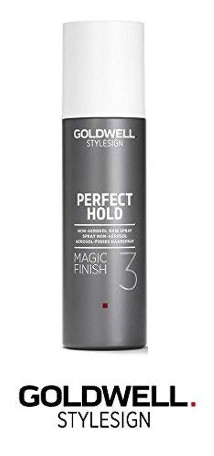 増幅明確な従順Goldwell Stylesignパーフェクトホールドマジックフィニッシュ3非エアゾールヘアースプレー - 6.3オンス(と洗練されたスチールピンテールコーム)
