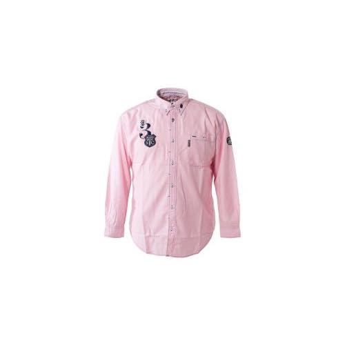 (シナコバ) SINA COVA キングサイズボタンダウンシャツ ライトピンク Kサイズ