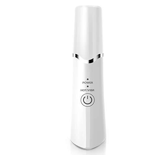 美顔器 1台4役 超音波マッサージ イオン導入 恒温加熱 法令線改善 USB充電 目元マッサージャー 温熱ケア 目元マッサージ機 フェイスマッサージ ストレス解消 唇ケア 保湿 リップケア 血行促進
