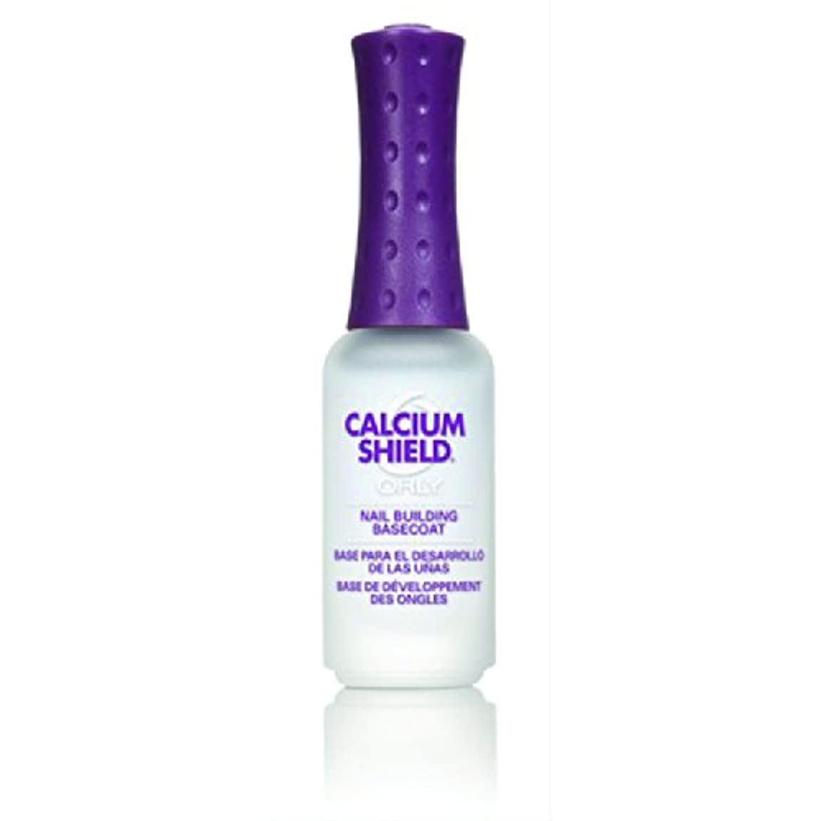 軽食ブレス大陸Orly Nail Treatments - Calcium Shield - 0.3oz / 9ml