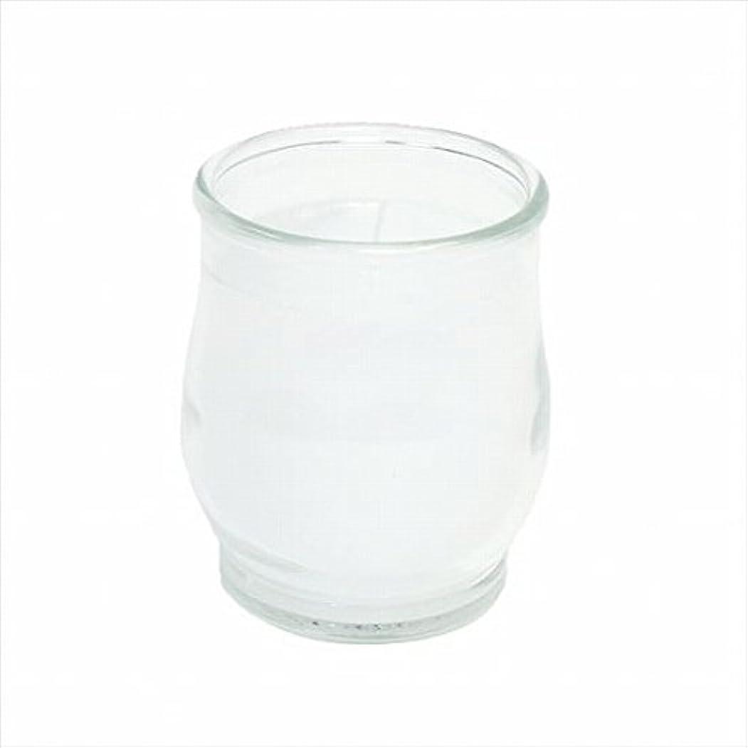 磁器ランチョンカフェカメヤマキャンドル(kameyama candle) ポシェ(非常用コップローソク) 「 クリア 」