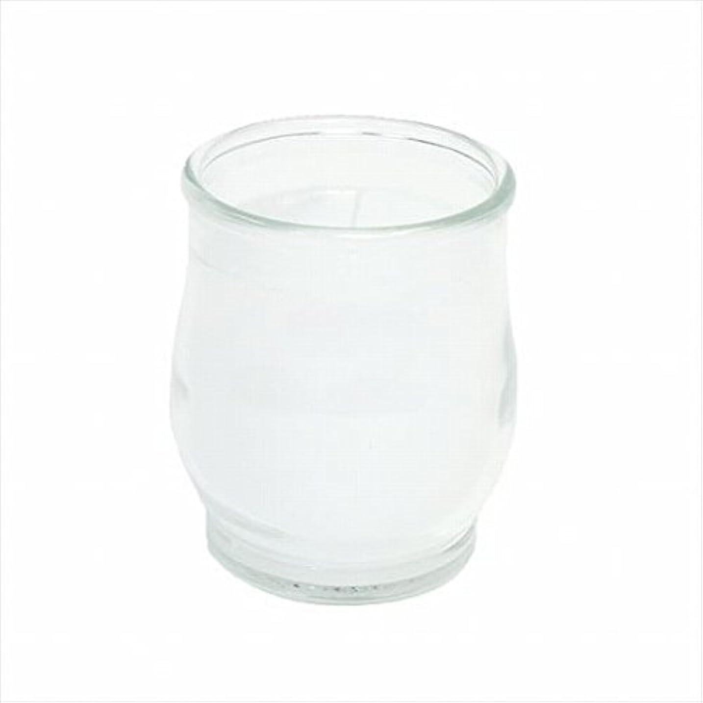 エクステント所属大きいカメヤマキャンドル(kameyama candle) ポシェ(非常用コップローソク) 「 クリア 」
