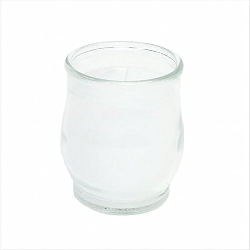 線形謝罪するジムカメヤマキャンドル(kameyama candle) ポシェ(非常用コップローソク) 「 クリア 」