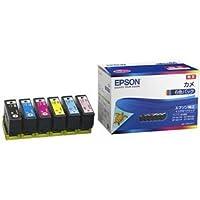 【純正品】 EPSON KAM-6CL インクカートリッジ カメ 6Cパック 〈簡易梱包