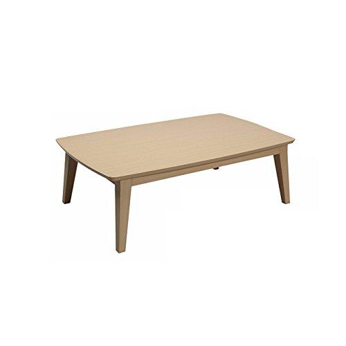 こたつ テーブル ナチュラル 省電力コルチェヒーター 立ち上がりまで0.5秒! センターテーブルコタツ