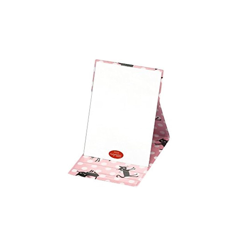 寝室を掃除する感覚ティーンエイジャープロモデル折立ナピュアミラーココランド ドット小