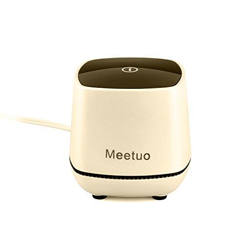 [해외]Meetuo 유선 미니 스피커~ 표준 3.5 mm 오디오와 휴대용 USB 전원 스테레오 홈 책장 컴퓨터 스피커~ 노트북 PC~ 데스크톱 태블릿에 최적화 니스 바탕 화면 장식/Meetuo wired mini speaker~ ideal for standard 3.5 mm audio and portable USB power...