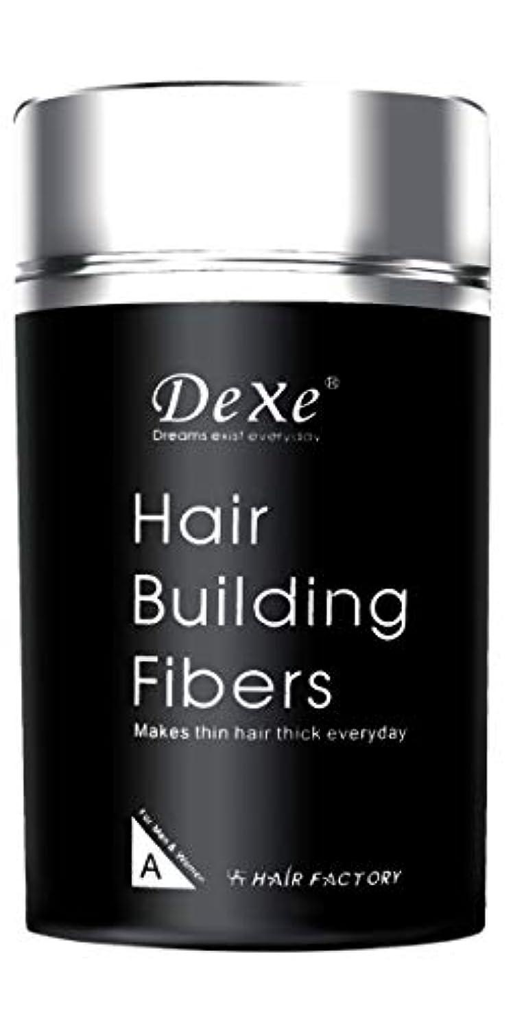 蒸発するアラブ人塗抹dexe 薄毛隠し パウダー 増毛スプレー 人工毛髪 植物繊維 男女兼用 ヘアプラス