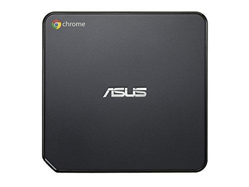 『【日本正規品】 ASUS ChromeBox シリーズ 日本語キーボード付属 ( ChromeOS / Celeron 2955U / 4GB / SSD 16GB / 無線LAN / HDMI ver1.4a DisplayPort1.2a / カードリーダー / ワイヤレスキーボード・マウス / ブラック ) CHROMEBOX-M130U』の2枚目の画像