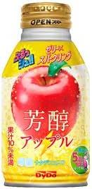 ダイドー ゼリー飲料 ぷるっシュ ゼリー×スパークリング 芳醇アップル 280g×24缶