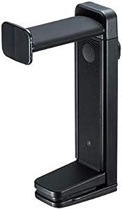 サンワサプライ ヘッドホンスタンド 2WAY ヘッドホンフック 回転式 高さ調節可能 PDA-STN25BK