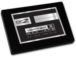 OCZ/オーシーゼット 2.5インチSATA接続SSD Vertex 3 MAX IOPS 120GB (VTX3MI-25SAT3-120G)
