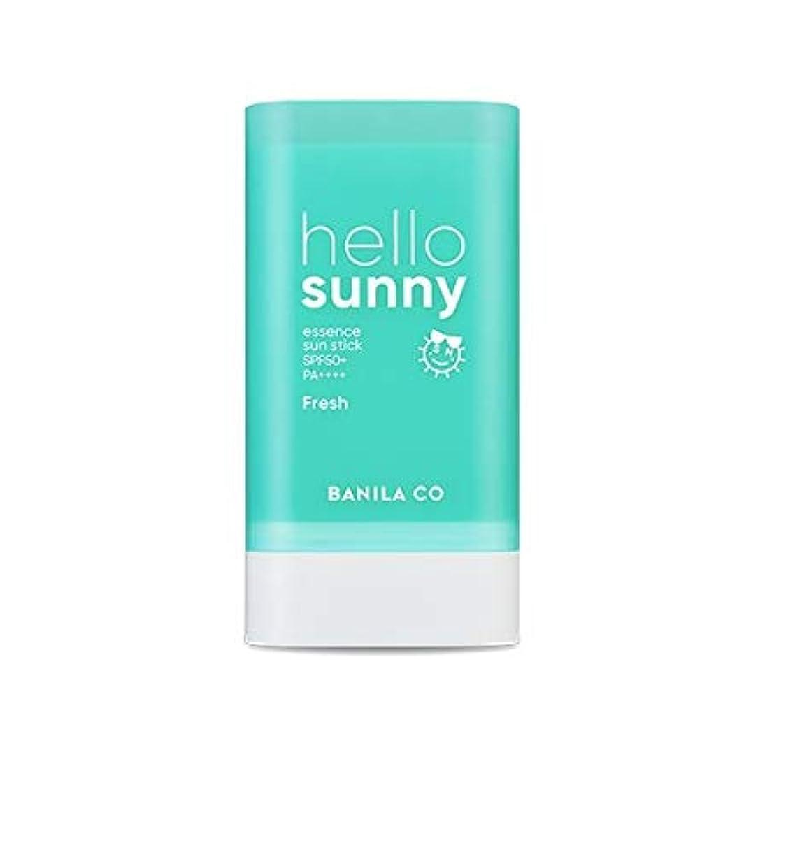 霜口径圧倒的banilaco ハローサニーエッセンスサンスティックフレッシュ/Hello Sunny Essence SunStick Fresh 18.5g [並行輸入品]