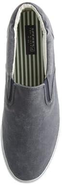 Striper Slip-On Sneaker: Navy