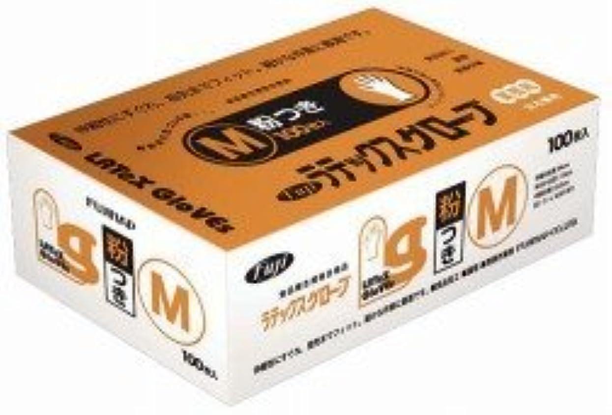 ガジュマルひらめき強いフジ ラテックスグローブM 入数:100枚×20箱