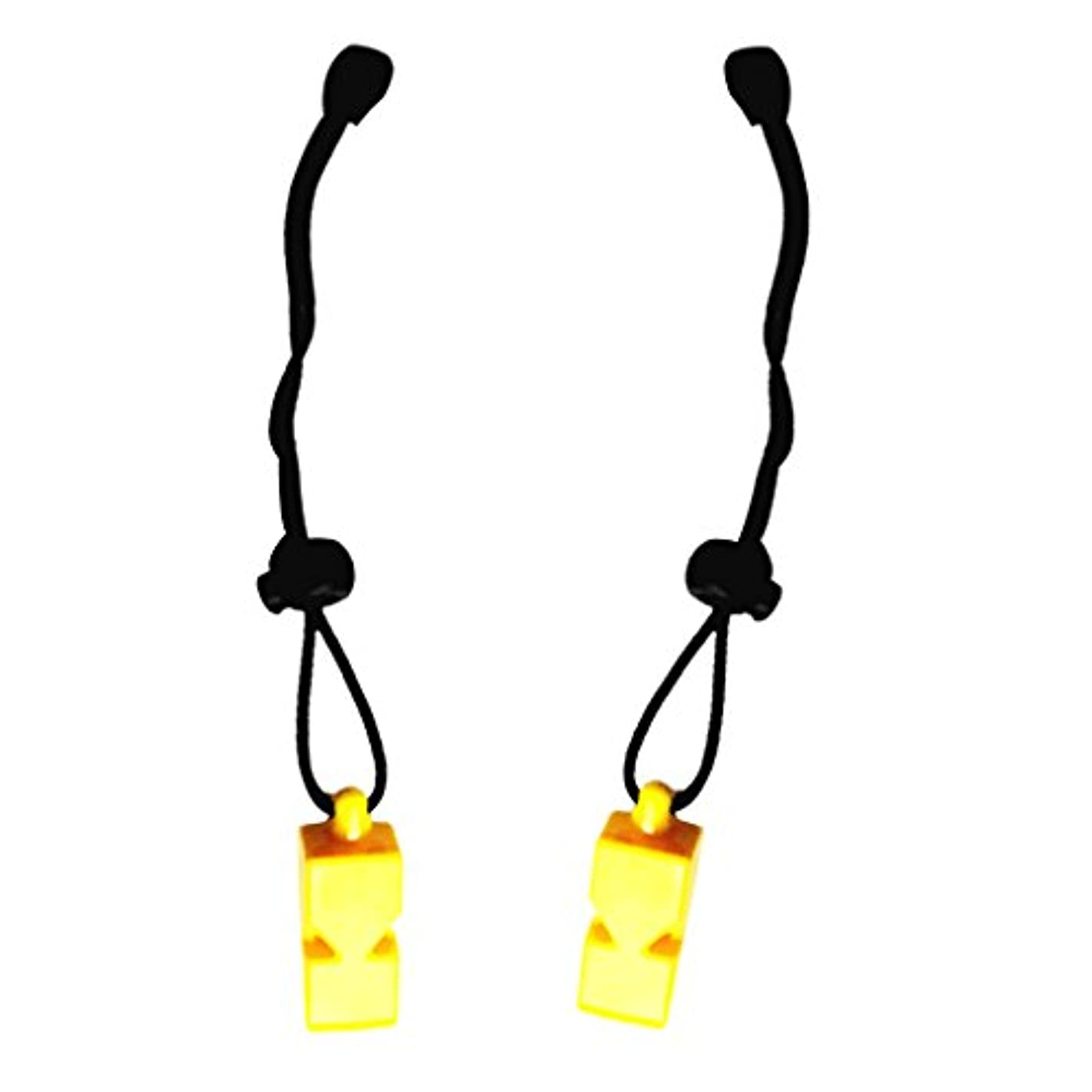 収束する話シェルPerfk 全3色 2個 緊急用 スキューバ ダイブ ウォータースポーツ  安全 ストラップ ホイッスル 笛