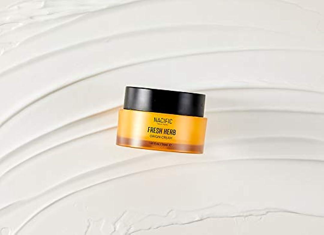 グラス定刻娘[NACIFIC] フレッシュハーブクリーム 50ml / NATURAL PACIFIC Fresh Herb Origin Cream 1.69 fl.oz [並行輸入品]