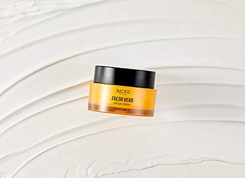 海上抽象化キャッチ[NACIFIC] フレッシュハーブクリーム 50ml / NATURAL PACIFIC Fresh Herb Origin Cream 1.69 fl.oz [並行輸入品]