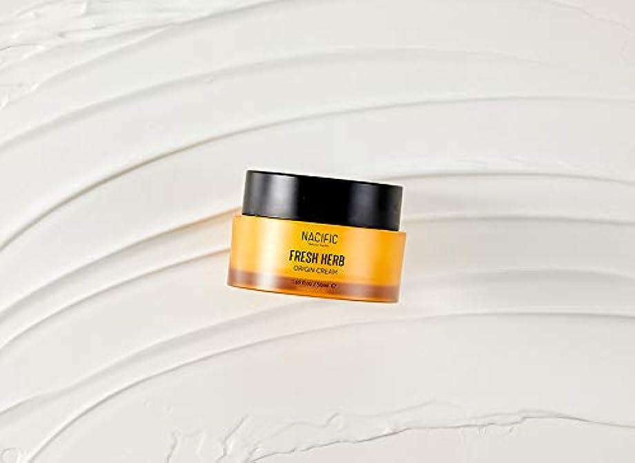 キャプテン壮大なグリース[NACIFIC] フレッシュハーブクリーム 50ml / NATURAL PACIFIC Fresh Herb Origin Cream 1.69 fl.oz [並行輸入品]