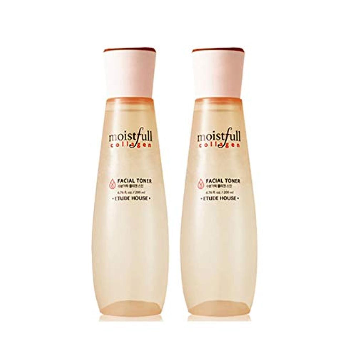 名誉ある明らかにする浴室エチュードハウス水分いっぱいコラーゲンスキン200ml x 2本セット韓国コスメ、Etude House Moistfull Collagen Skin 200ml x 2ea Set Korean Cosmetics...