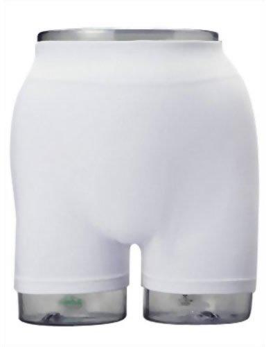 サンヘルパー フィットパンツ 尿取りパッド用 ホワイト L-LL パンツ 男女兼用