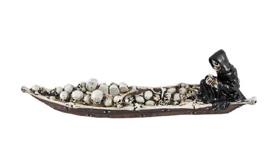 裕福な近所の海港死神Boatman Stick Incense Burner Chiron Styx