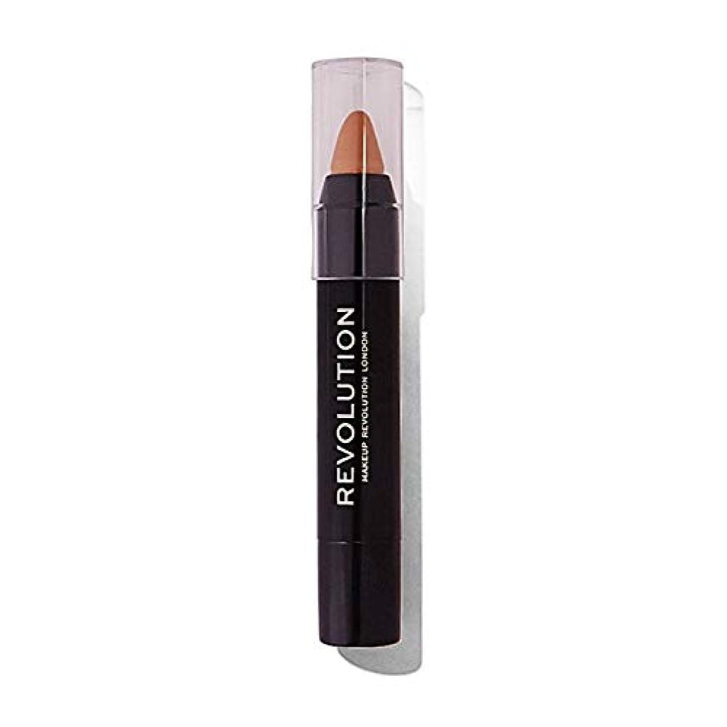 [Hair Revolution ] 化粧革命のルートスティック金髪をカバー - Makeup Revolution Root Cover Up Stick Blonde [並行輸入品]