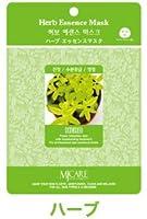 フェイスパック ハーブ 韓国コスメ MIJIN(ミジン)コスメ 口コミ ランキング No1 おすすめ シートマスク 100枚