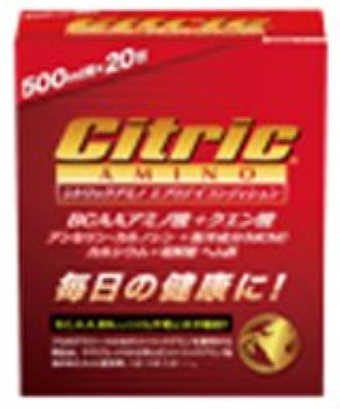 縮れた品存在6個いり シトリック アミノ サプリ [ エブリデイコンディション (ニュータイプ)6g×20包入り ] メダリスト Medalist Citric