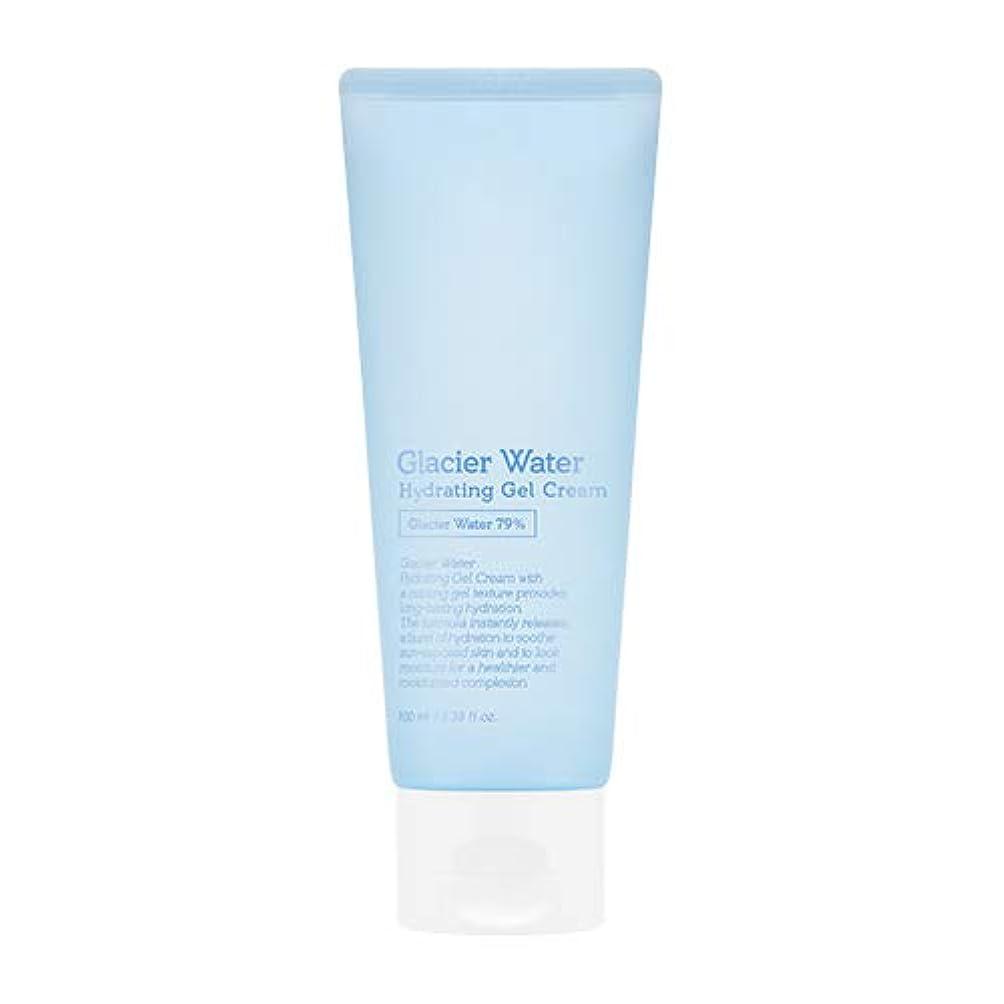 ジュニア骨折巨大アピュ 氷河水 ハイドレーティングゲルクリーム [大容量] / A'PIEU Glacier Water Hydrating Gel Cream 100ml [並行輸入品]