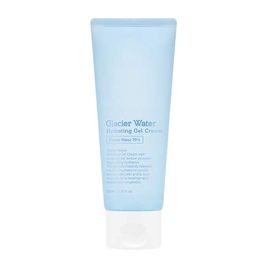 ホバート表示放送アピュ 氷河水 ハイドレーティングゲルクリーム [大容量] / A'PIEU Glacier Water Hydrating Gel Cream 100ml [並行輸入品]